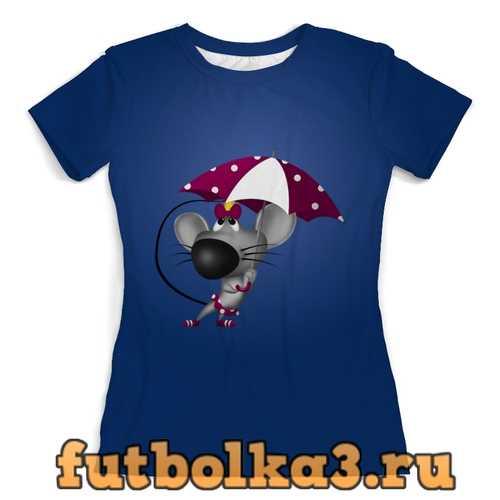 Футболка Мышонок женская