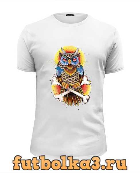 Футболка Mysterious Owl мужская