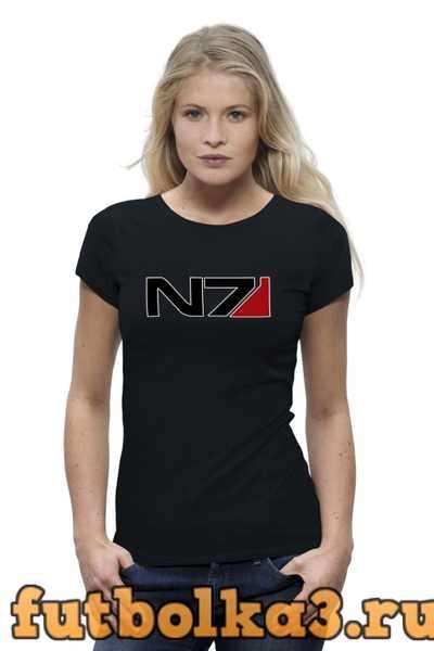 Футболка N7 - Mass Effect женская