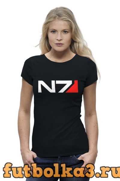 Футболка N7 (Mass Effect) женская