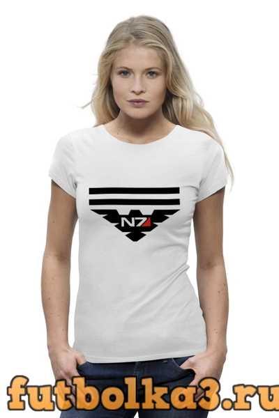 Футболка N7 (Масс Эффект) женская