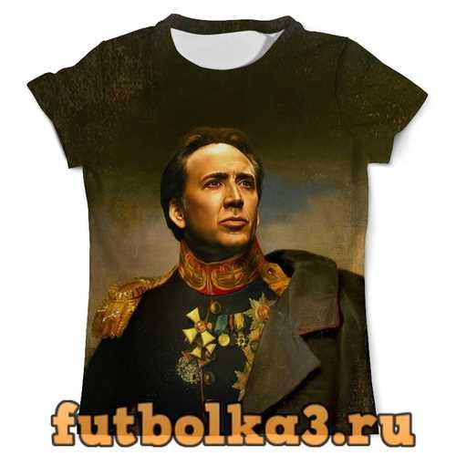 Футболка Nicolas Cage мужская
