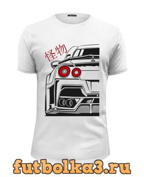 Футболка Nissan GTR мужская