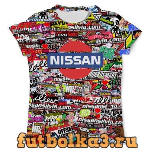 Футболка Nissan_ARSB мужская
