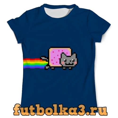 Футболка Nyan Cat мужская