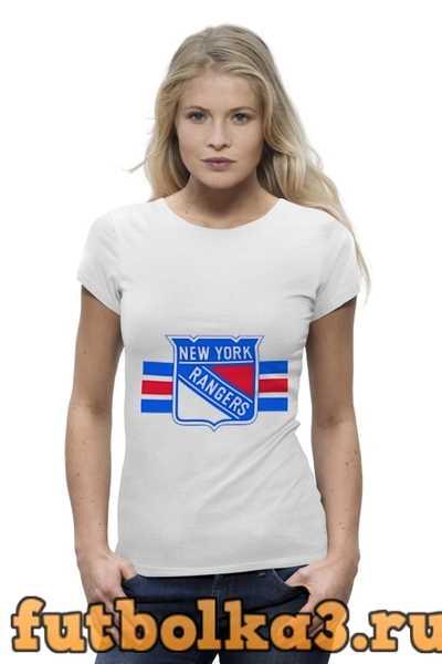 Футболка Нью-Йорк Рейнджерс женская
