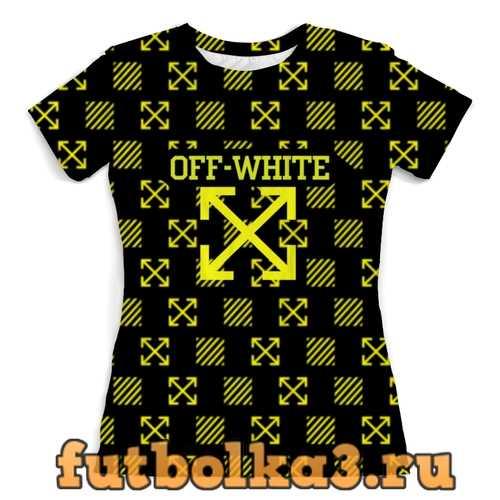 Футболка Off white женская