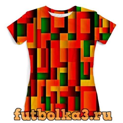 Футболка Орнамент графический женская