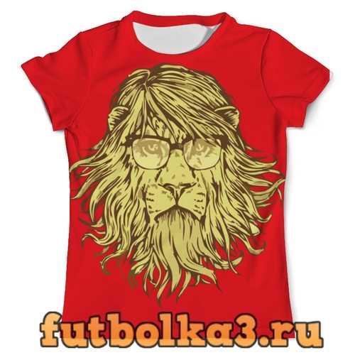 Футболка Пафосный Лев мужская