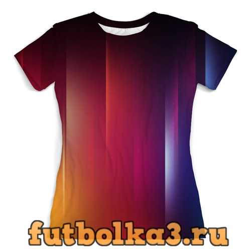 Футболка Переход цвета женская