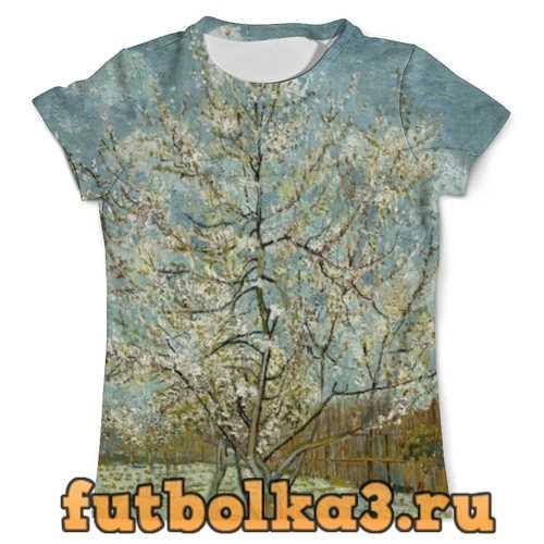 Футболка Персиковое дерево в цвету (Ван Гог) мужская