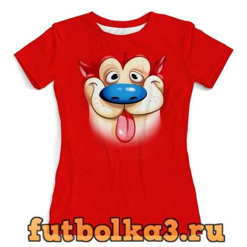 Футболка Пес Рен (1) женская