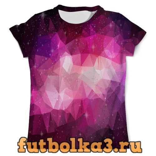 Футболка Pink Polygon мужская