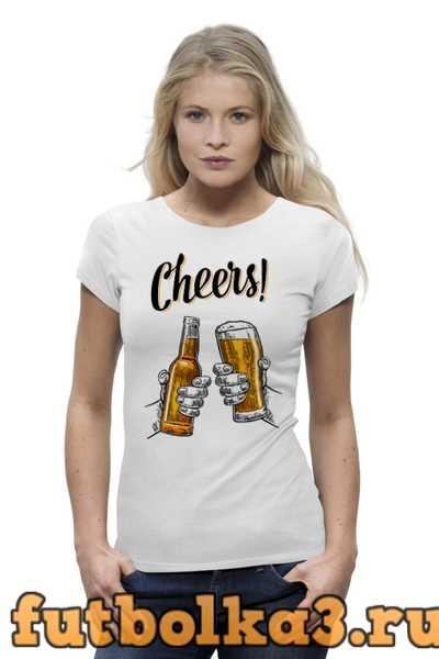 Футболка Пиво женская