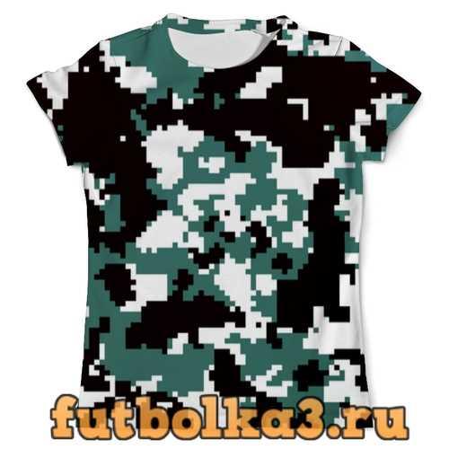 Футболка Pixel camouflage мужская
