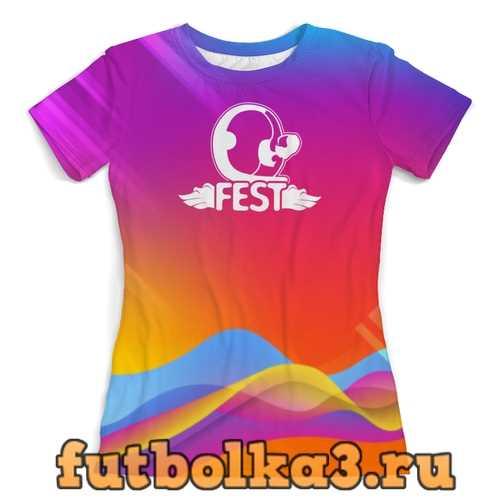 Футболка Полный Q-FEST! женская