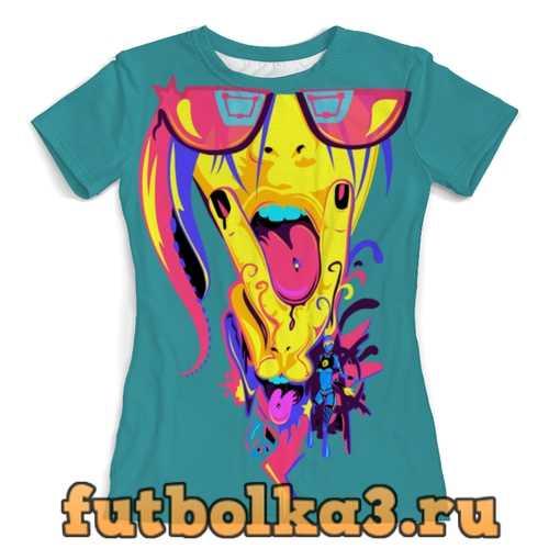 Футболка Поп-Арт женская