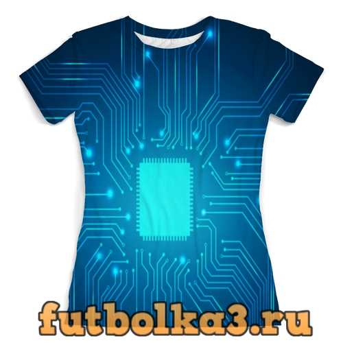 Футболка Процессор женская