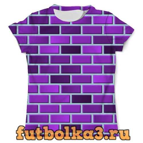 Футболка Пурпурные кирпичи мужская