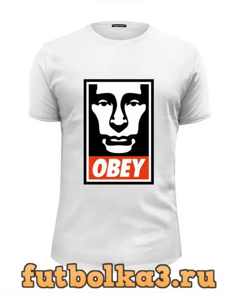 Футболка Putin OBEY мужская