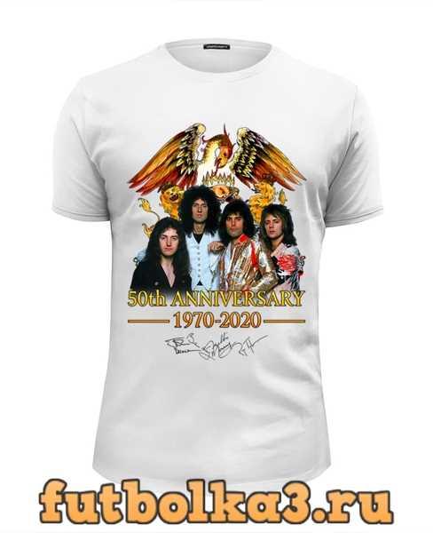 Футболка Queen 50th Anniversary 1970-2020 мужская