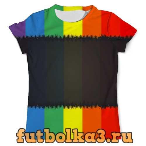 Футболка Радуга мужская