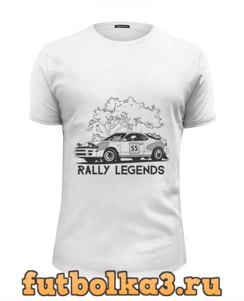 Футболка Rally Celica мужская