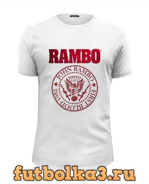 Футболка Rambo мужская