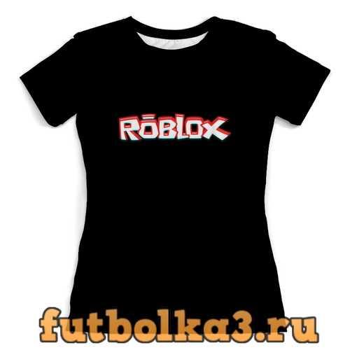 Футболка Roblox женская