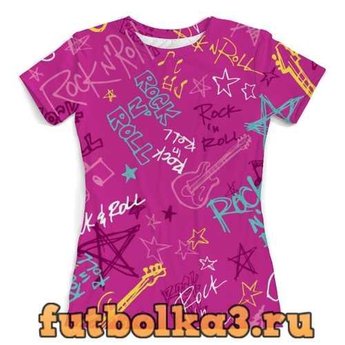 Футболка Rock n Roll женская