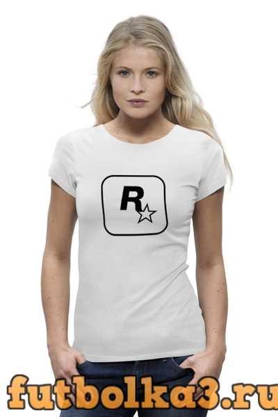 Футболка Rockstar женская