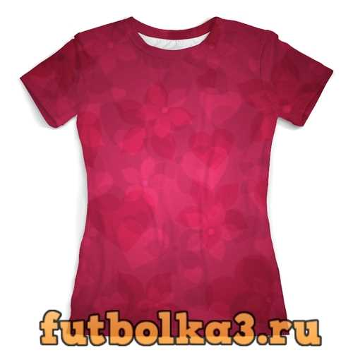 Футболка Романтика женская