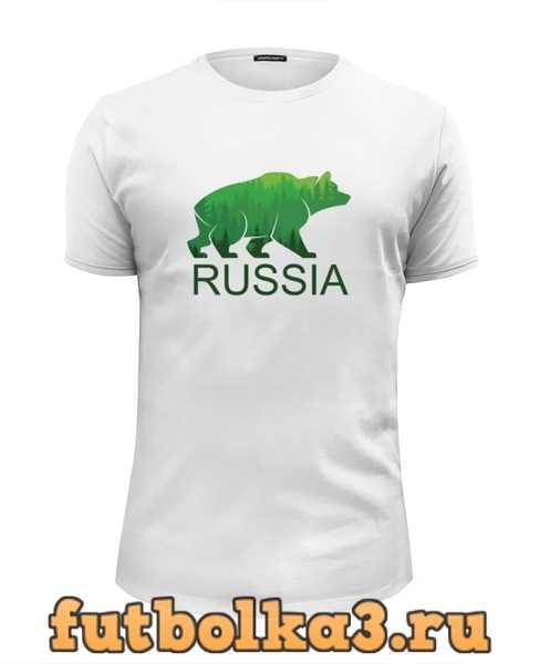 Футболка Россия, Russia мужская