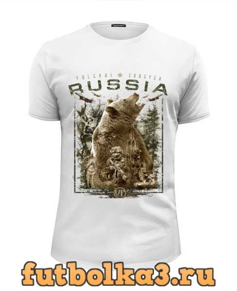 Футболка Россия (в. 2) мужская