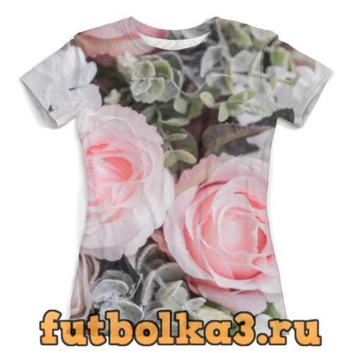 Футболка Розы. женская
