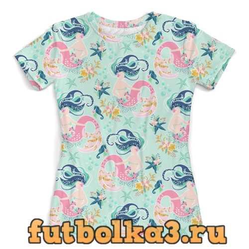 Футболка русалка женская