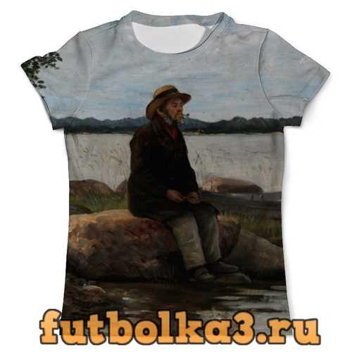 Футболка Рыбак (Адольф фон Беккер) мужская