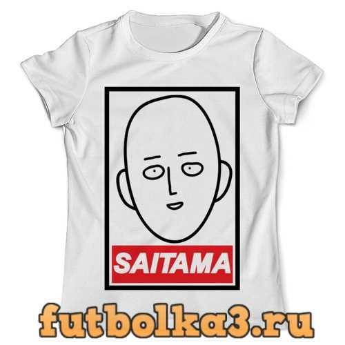 Футболка сайтама ( Saitama ) мужская