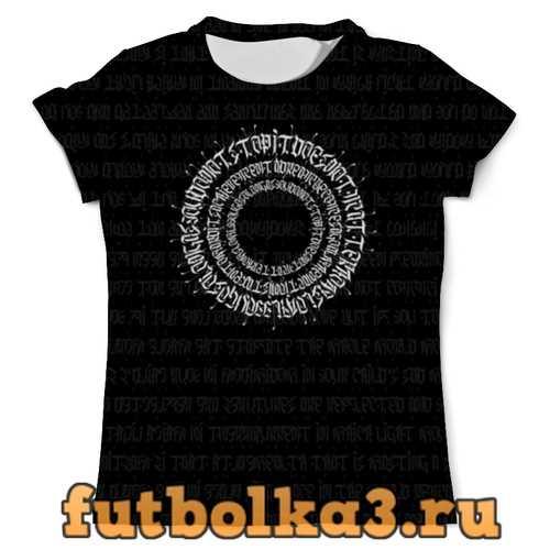 Футболка Сalligraphy мужская