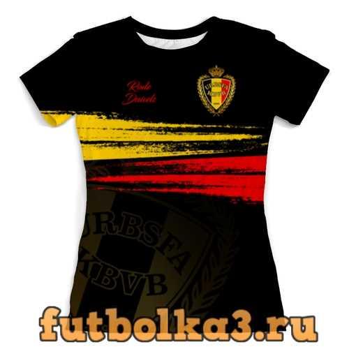Футболка Сборная Бельгии женская
