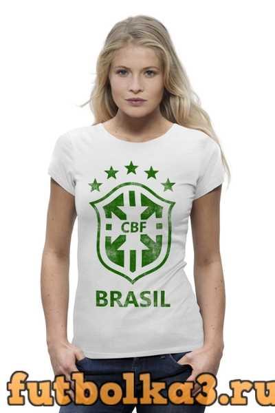Футболка Сборная Бразилии женская