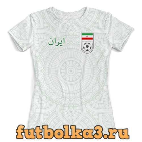 Футболка Сборная Ирана женская
