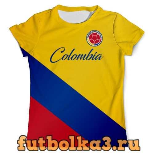 Футболка Сборная Колумбии мужская