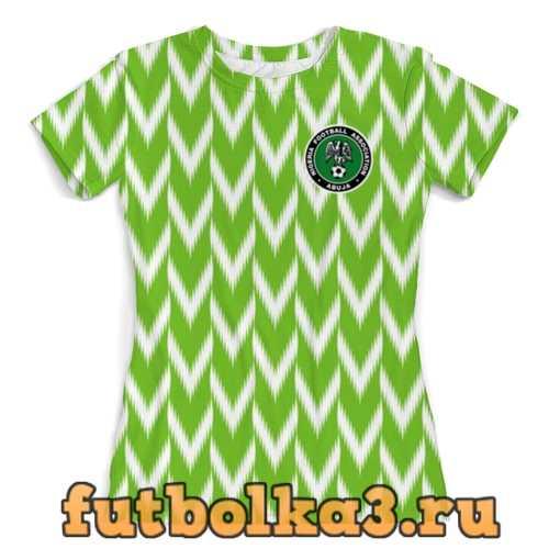 Футболка Сборная Нигерии женская
