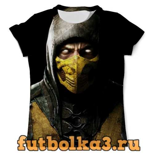 Футболка Scorpion мужская