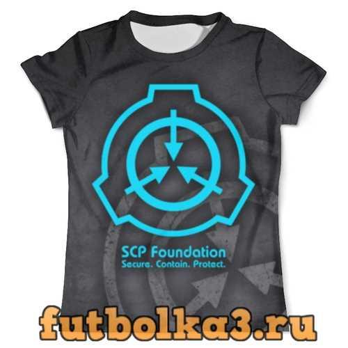 Футболка SCP Foundation мужская