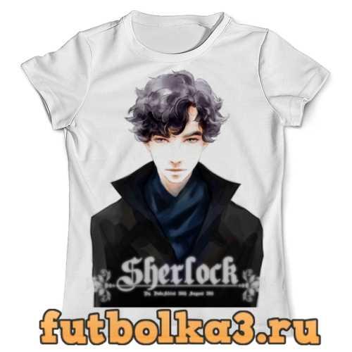 Футболка Sherlock Holmes мужская