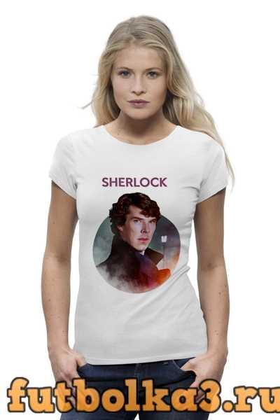 Футболка Sherlock женская