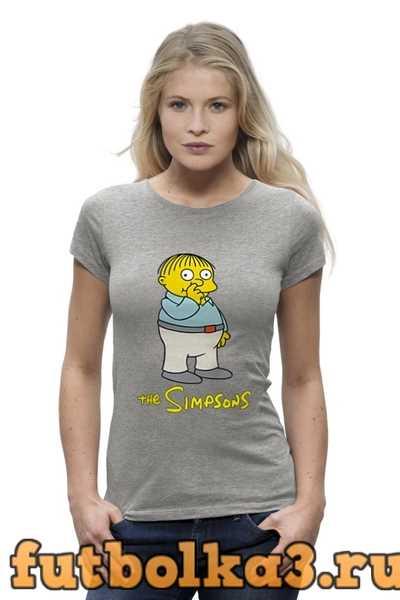 Футболка Симпсоны женская