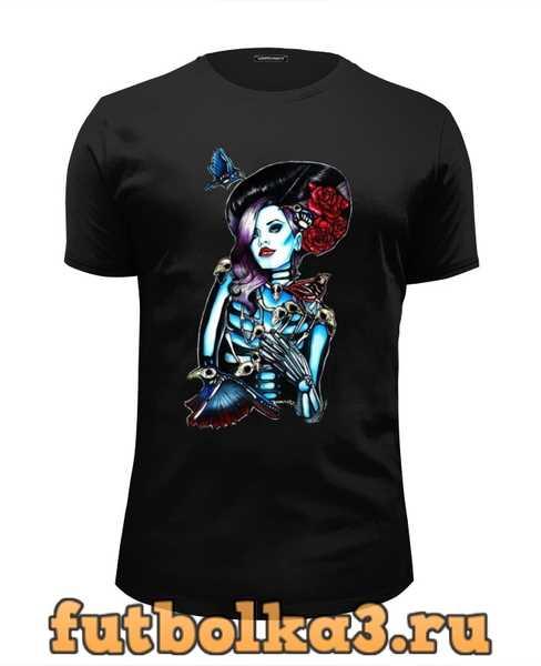 Футболка Skeleton Girl мужская